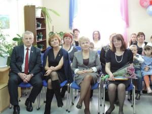 1.Гости юбилейного вечера, посвященного 40-летнему юбилею Сафоновской городской библиотеки.