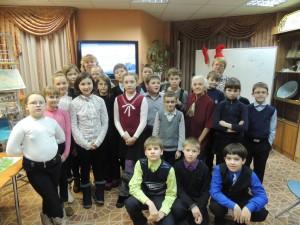 Встреча с почётным гражданином города Североморска Потёмкиной Ниной Николаевной