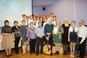 Фото на память с ведущими и гостями праздника