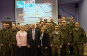 Фотография  на память с Поляковым  Петром  Алексеевичем